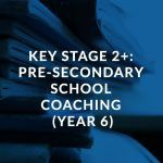 Key Stage 2+ Pre-Secondary English and Maths